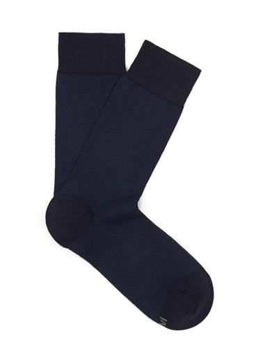 Mavi  Uzun Çorap Lacivert